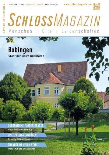 SchlossMagazin Bayerisch-Schwaben Oktober 2018