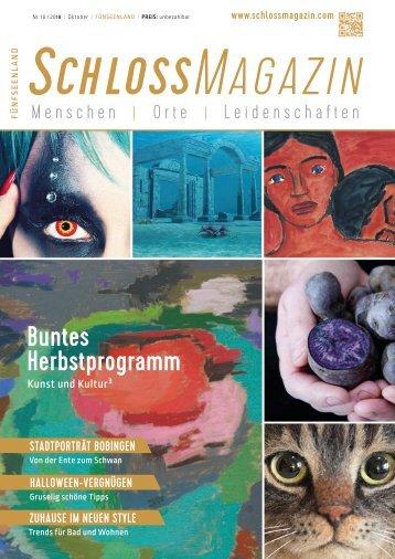 SchlossMagazin Fünfseenland Oktober 2018
