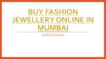 Buy Fashion Jewellery Online in Mumbai