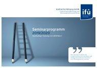 Seminarprogramm 2019/2020