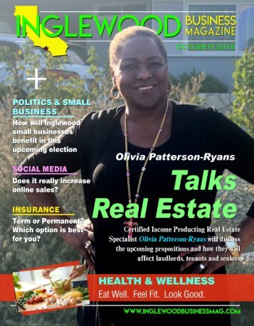 Inglewood Business Magazine October 2018