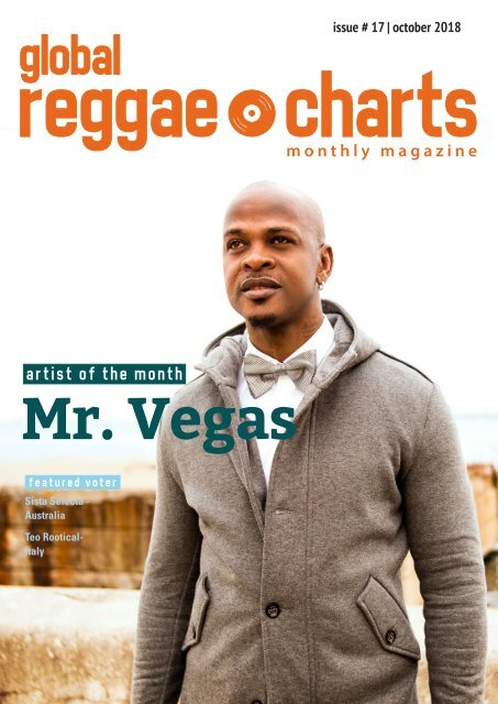 Global Reggae Charts - Issue #17 / October 2018
