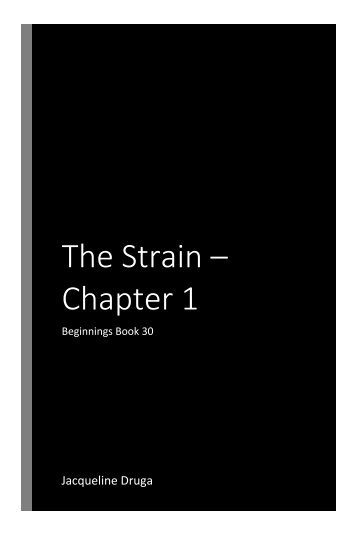 The Strain Chapter 1