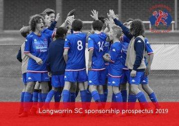 Langwarrin Sponsorship Prospectus 2019