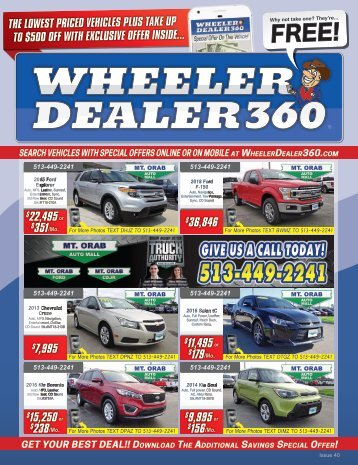 Wheeler Dealer 360 Issue 40, 2018