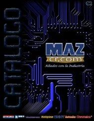 Catalogo MAZ