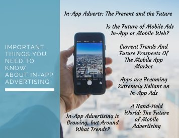 Important Things You Need to Know About In-App Advertising