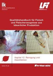 Kapitel 12, Reinigung und Desinfektion - Wooly Pigs