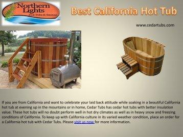 Best California Hot Tub