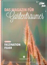 Das Magazin für Gartenträumer | Herbst 2018