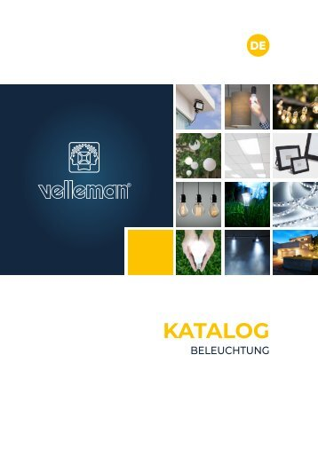 Velleman Lighting Catalogue - DE