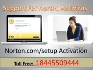 Norton Activation 18445509444 Norton Antivirus Setup Support