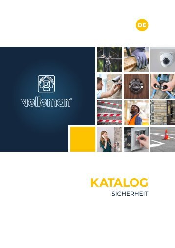 Velleman Security Catalogue - DE