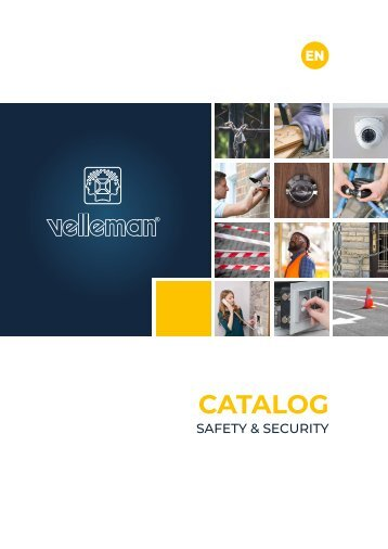 Velleman Security Catalogue - EN