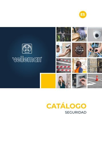 Velleman Security Catalogue - ES