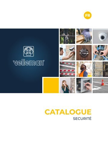 Velleman Security Catalogue - FR