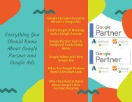 Everything You Should Know About Google Partner and Google Ads