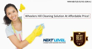 Wheelers Hill Cleaning Solution At Affordable Price!