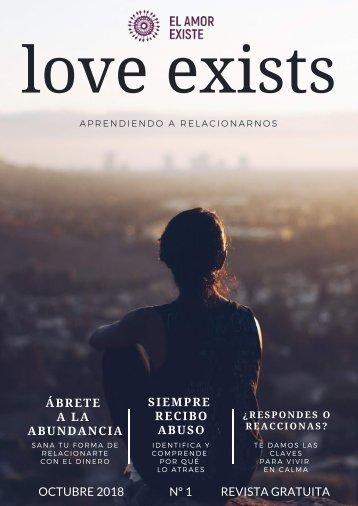 revista LOVE EXISTS octubre 2018