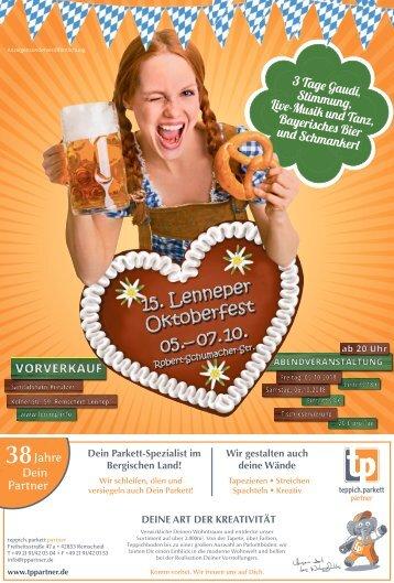 15. Lenneper Oktoberfest  -03.10.2018-