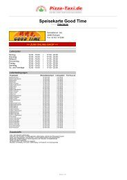Good Time In 40880 Ratingen Sohlstättenstr 26c Pizza Taxi