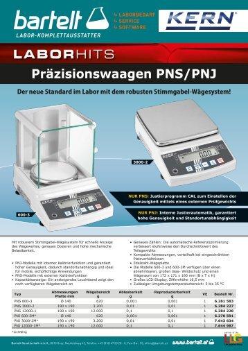 LLG_Kern_Präzisionswaagen_PNS_PNJ_Bartelt_DE