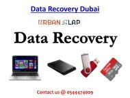 Grab the Data Recovery Service in Dubai, Call 0544474009