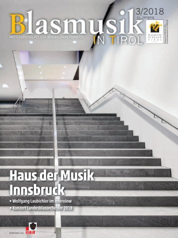 Blasmusik in Tirol 3/2018
