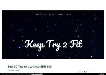Keto BHB 800 Price