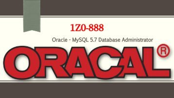 Oracle 1Z0-888 Questions Answers