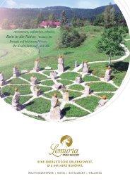 Lemuria Park Resort Broschuere DIN A4