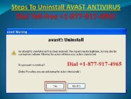 completely uninstall Avast antivirus