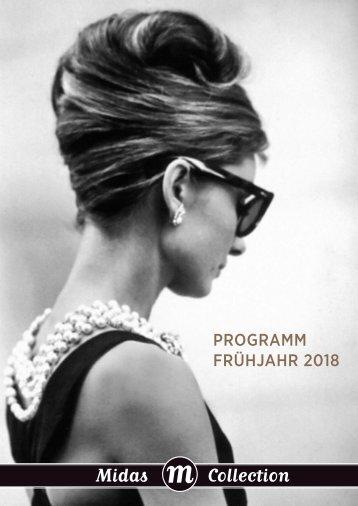 Programm Midas Collection Frühjahr 2018