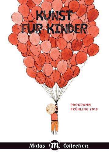 Programm Midas Kinderbuch Frühling 2018