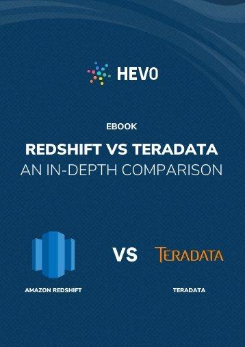 Redshift Vs Teradata - An In-Depth Comparison
