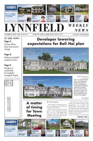 Lynnfield 10-4