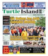 Turtle Island News - 10/03/2018
