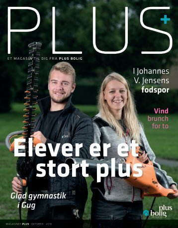 Magasinet PLUS oktober 2018