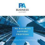 PA Business Support VA Proposal 15