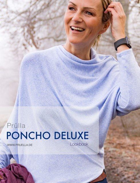 Pruella Lookbook poncho deluxe