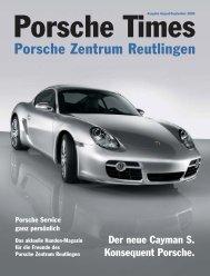 Ausgabe Aug/Sep 2005 - Porsche Zentrum Olympiapark