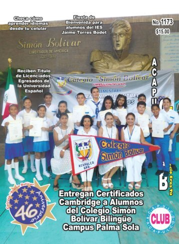 Revista Acapulco Club 1173