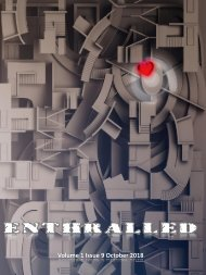 Enthralled Magazine Vol 1 Issue 9 - Enquire