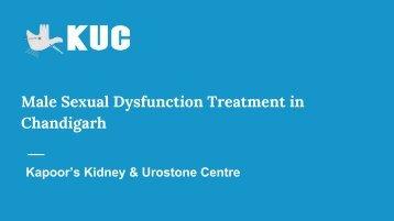 Best Erectile Dysfunction Treatment in Chandigarh