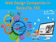 Web Design Companies in Rockville, MD