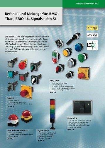 Befehls- und Meldegeräte RMQ- Titan, RMQ 16, Signalsäulen SL