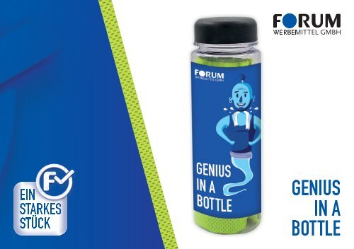 Starkes Stück • Genius in a bottle