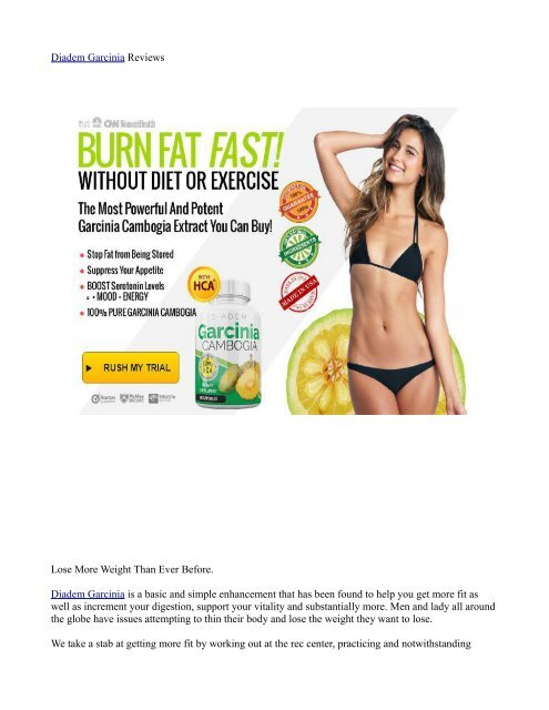 Garcinia cambogia does it really work