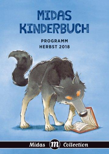Programm Midas Kinderbuch Herbst 2018