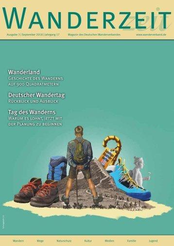 Wanderzeit, Ausgabe September 2018